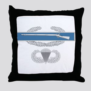 CIB Airborne Throw Pillow
